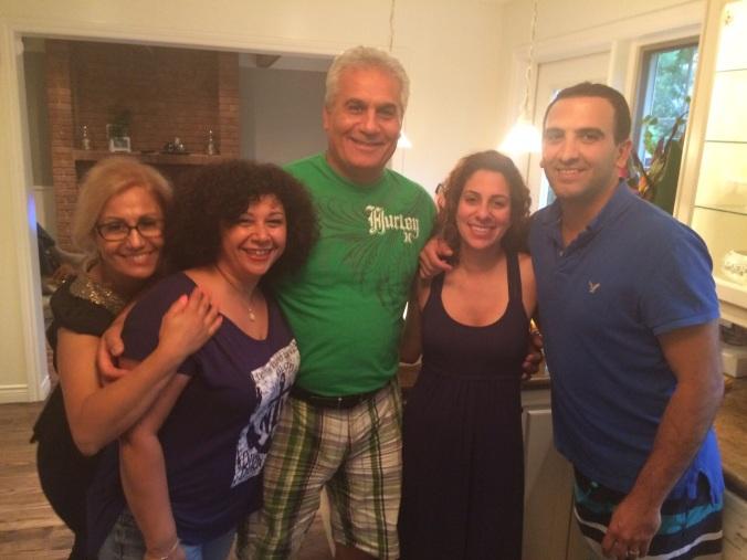 """A few favorite aunts and an uncle along with """"Khaleh Par Par"""" and """"Uncle Bobby"""""""